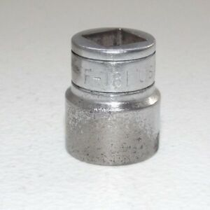 Vintage Snap On F181 3 8 Drive 9 16 Shallow Socket
