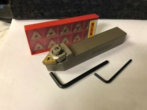 New Lathe Tool Holder With Tnmg331 Carbide Inserts 3 4