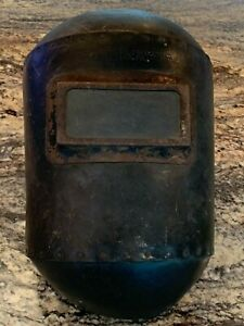 Rare Early 1900s Welding Mask By Fibre Metal Products Chester Pa
