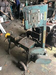 Wells Portable Metal Band Saw Model 58b Working Condition