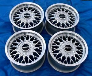 Ronal Ls Wheels 15 New In Boxes 4x100 Et25 Fits Bmw E30 Free Fast Ship