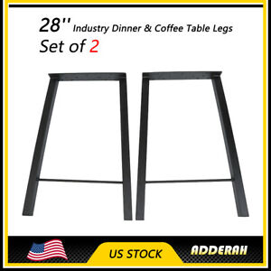 28 Diy 2pcs Industry Coffee Table Legs Dinner Metal Benches Furniture On Sale