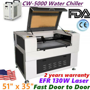 51 X 35 130w Co2 Laser Cutter With Electric Lifting Worktable And Auto focus