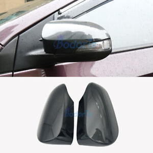 For Toyota Camry 2012 2017 Carbon Fiber Door Mirror Overlay Rear View Cover Trim
