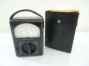 Vintage Triplett Model 630 Type 3 Suspension Meter Multimeter