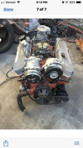 1969 Chevy 454 Engine And Transmission 700r