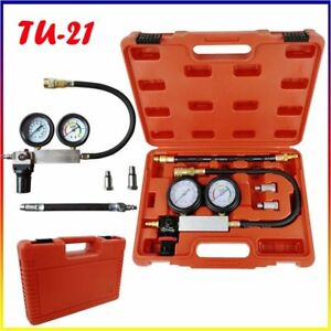 Tu 21 Cylinder Leak Tester Petrol Engine Compression Leakage Leakdown Detector K