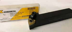 10 Pcs Kennametal Wnmg 434a 5e Indexable Tool Holder 5 8