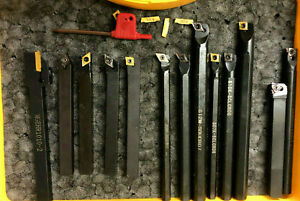 Lathe Tool Set Threading Cut Off Dcmt ccmt 10 Carbide Insert 3 8 1 2 Discount