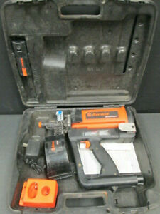 Ramset Gypfast Gas battery Powered Cordless Nail Gun Kit 2 Batteries