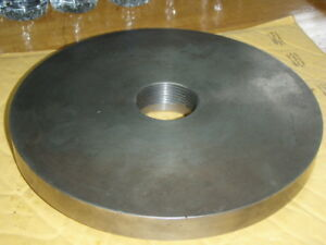 South Bend Lathe Original 2 1 4 X 8 Backing Plate 10 3 8 Diameter Back Plate Nos