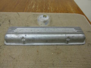Chevy Corvette Small Block Finned Cast Aluminum Valve Cover