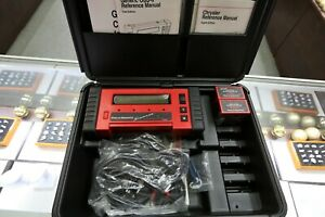 Snap On Mt2500 Super Deluxe Scanner Obd1 Obd2 W 5 Keys And Two Cartridges