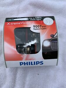 New Philips 9007 Extreme Vision 2 Pack 9007xvs2 Bulb