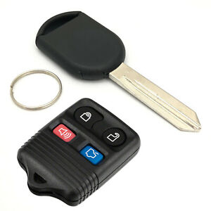 New Car Key Transponder Chip H84 And 4 Buttons Keyless Entry Remote Control