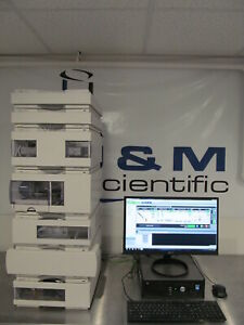 Agilent 1100 Series Hplc System With G1321 Fld Binary Pump