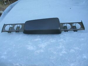 Volvo 740 940 760 780 Center Console Cover Arm Rest With Cup Holder Black Oem