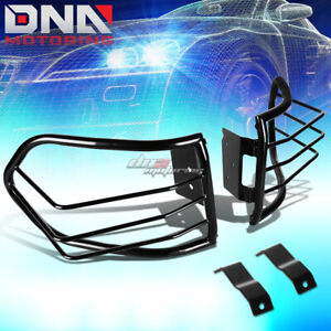 For 07 12 Fj Cruiser Suv Black Coated Steel Tail Light Lamp Cage Guard Mounting