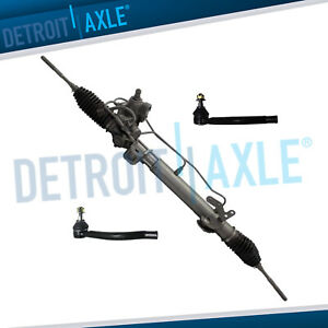 Power Steering Rack And Pinion Outer Tie Rods For 2007 2012 Nissan Altima