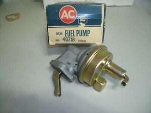 Nos Ac Fuel Pump 1966 69 427 Camaro Corvette L 71 L 88 Tri Power