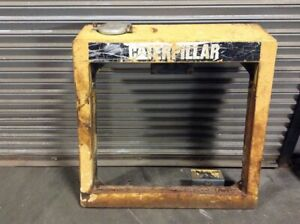 1989 Cat 953 Guard Radiator Outer Cover Only