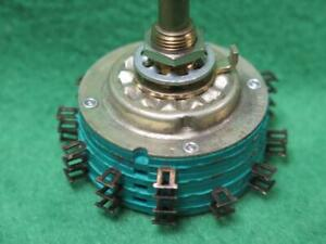 Sc Co B S C 44147 1 304 74 33 Stackpole Rotary Switch Resistor Series 600