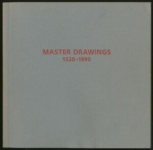 Exhibition catalog Master Drawings 1520 1990 Janie C Lee Master Drawings New 1st $150.00