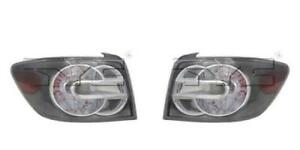 Side pair For 2007 2009 Mazda Cx 7 Rear Tail Light Assembly Replacement lens