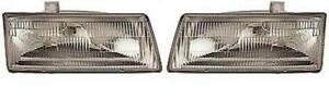 Side pair For 1991 1995 Dodge Caravan Front Headlight Assembly Replacement