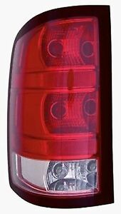 For 2009 2013 Driver Side Chevrolet Silverado 1500 Rear Tail Light Assembly