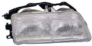 For 1990 1991 Driver Side Honda Civic Front Headlight Assembly Replacement