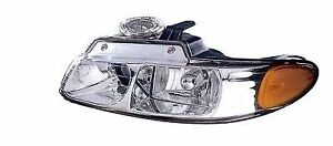 For 2000 Driver Side Chrysler Town Country Front Headlight Assembly