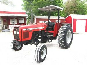 Nice Mf 481 Tractor 80 Hp Low Hours Shipping Available At 1 85 mile
