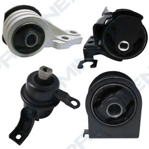 Engine Motor Transmission Mount Set 4 Pcs For 2005 2012 Ford Escape 3 0l V6