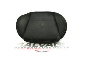 2006 2007 Mazdaspeed Mazda 6 Speed Front Driver Seat Cushion Black Cloth Bottom