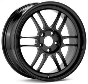 Enkei Rpf1 17x7 5x114 3 45mm Black Wheel 3797706545bk