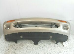 98 03 Jaguar Xj8 Front Bumper Cover W Lower Valance Reinforcement Oem