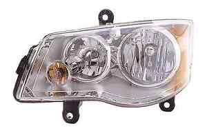 New Chrysler Town And Country 2008 2009 2010 Left Driver Headlight Head Light
