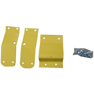 Seat Brackets 3 Piece Set Steel Yellow For John Deere 3020 7700 4000 4020 4430
