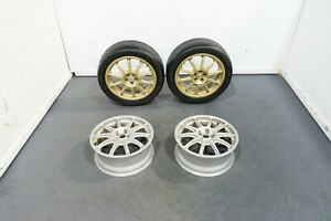 Set Of 4 Oz Racing Prodrive P1 Rare Racing Wheels 17x7 40 52 5x100