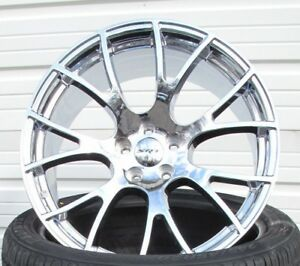 22 Factory Style Dodge Charger Srt Hellcat Chrysler 300 Chrome 4 Wheels Rims