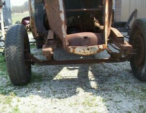 1937 1938 Chevy Car Straight Axle Front End Jalopy Trog Coupe Gasser Rat Rod Hot