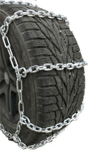 Snow Chains 225 75 17lt 7mm Square Tire Chains W Spring Tensioners