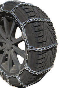Snow Chains 225 75r16lt 225 75 16lt Cam Tire Chains W Rubber Tensioners