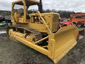 Price Reduced Caterpillar D6c Dozer With Winch Serial Prefix 76a In Vermont