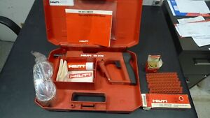 Hilti Dx E72 Powder Actuated Nailer Nail Gun With Extras Everything You Need