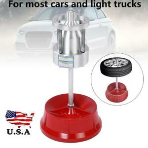 Portable Car Truck Portable Hubs Wheel Tire Balancer Bubble Level Heavy Duty Rim