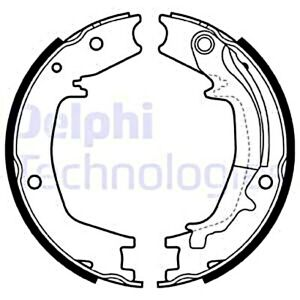 Delphi Parking Brake Shoe Set For Hyundai Elantra Saloon Santa Fe I 5830528c00