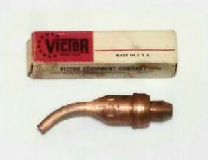 New Victor 1 1 112 Acetylene Cutting Torch Tip Rivet Cutting Ca2460 St2600fc