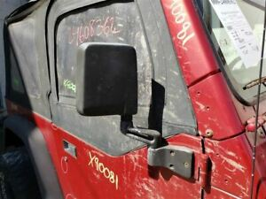 Passenger Side View Mirror Manual Lhd Fits 87 95 97 02 Wrangler 367405